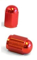Čepičky ventilků NUT oranžové