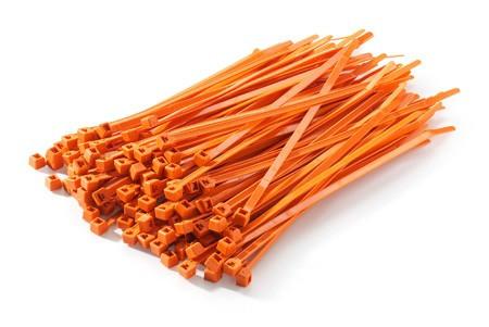 Pásky stahovovací 20ks 4,8x280 oranžové