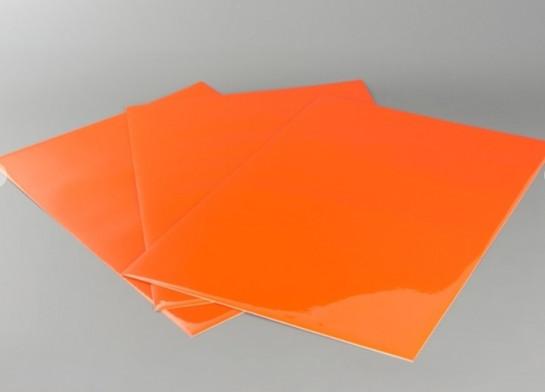 Barevná fólie (sada 3ks) oranžová