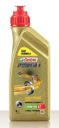 CASTROL Power 1 20W50 4T 1L NEW Formula