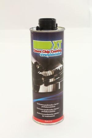 XT Ochrana podvozku černá – přelakovatelná 1000 ml