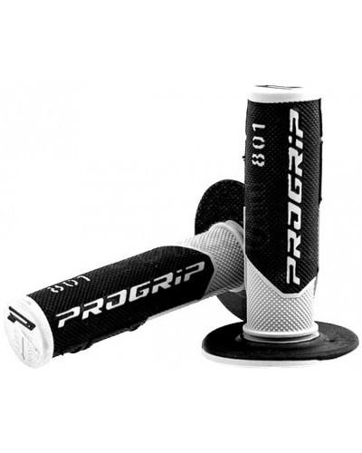 PROGRIP 801 off-road gripy dvouvrstvé bílo/černé