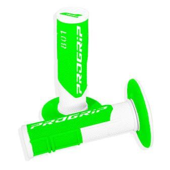 PROGRIP 801 off-road gripy dvouvrstvé Fluo bílo/zelené
