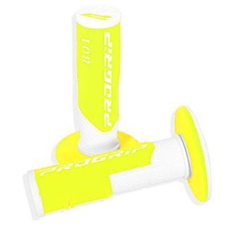 PROGRIP 801 off-road gripy dvouvrstvé Fluo bílo/žlutá