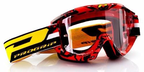 PROGRIP 3450 brýle TOP LINE FL-Multilay červené