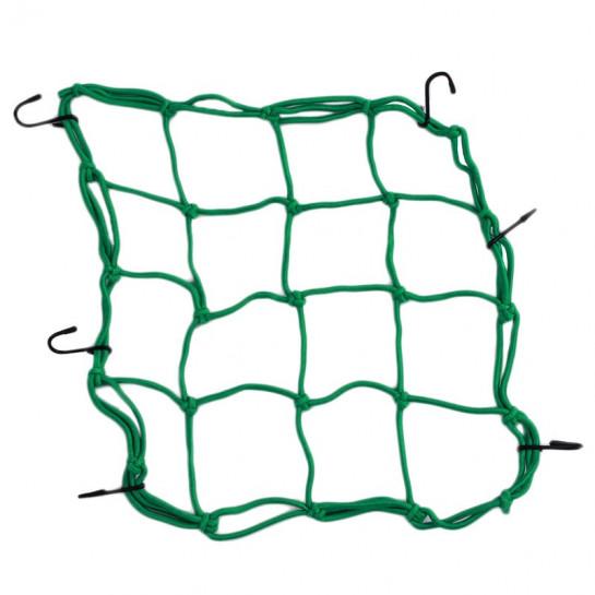 Síťka na zavazadla zelená
