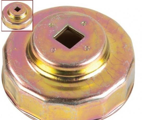 Klíč na olejové filtry - průměr 76mm/12hranný