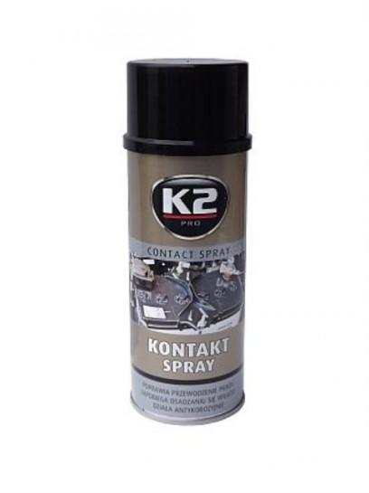 K2 CONTACT SPRAY 400 ml - kontaktní sprej, čistič elektrický...