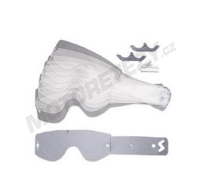 Odhazky/strhávačky pro brýle - 10ks Smith EVO/SUB/Speed