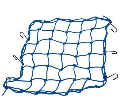 Síťka na zavazadla modrá