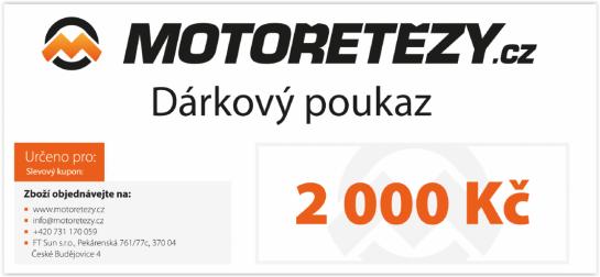 Dárkový poukaz 2000,- CZK