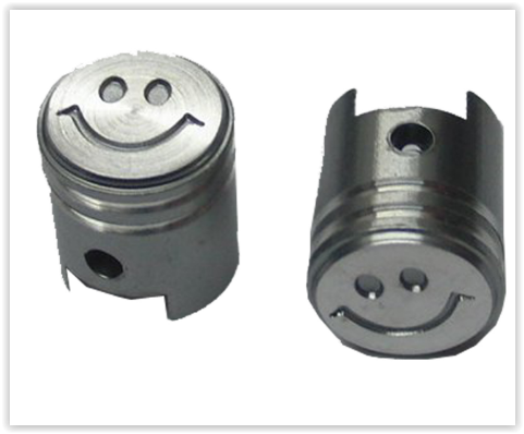 Čepičky ventilků PISTON III stříbrné