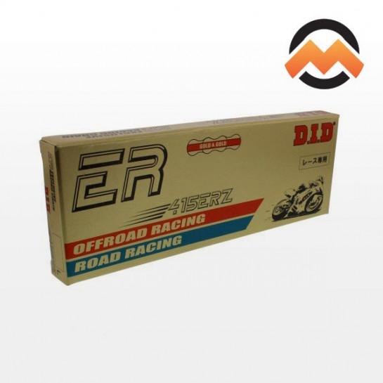 Řetěz DID 415 ERZ, bezkroužkový, zlatý