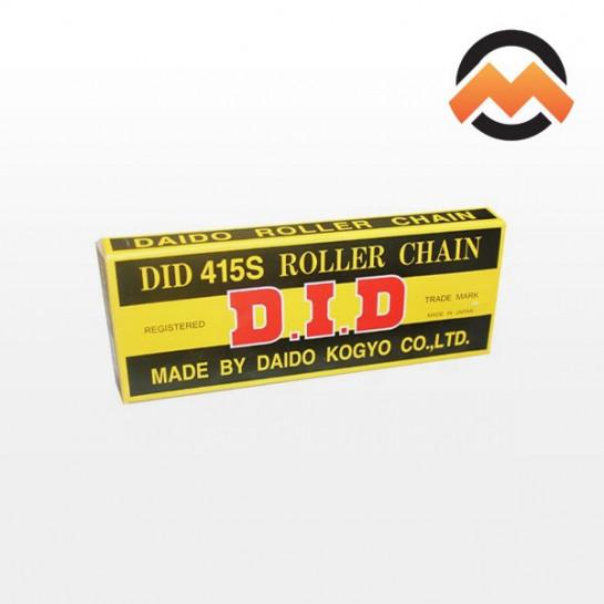 Řetěz DID 415 S, bezkroužkový, černý