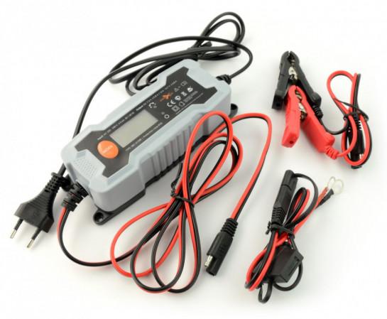 ExtremeStyle inteligentní nabíječka baterií 6/12V , 0,8/3,8A