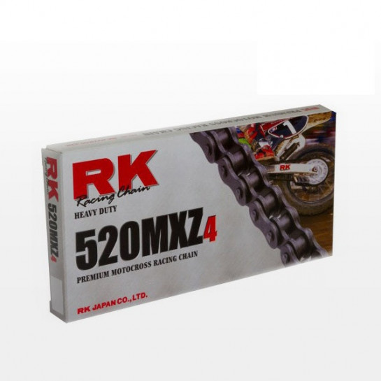 Řetězová sada RK MXZ4 KTM Freeride 250 R rok 14-17