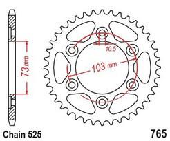 Rozeta DUCATI 950 Multistrada rok 17-19