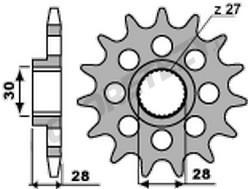 Řetězové kolečko APRILIA 850 Mana rok 08-16