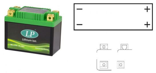 Lithiová baterie LP SUZUKI DR 350 S rok 90-93