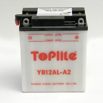 Baterie Toplite APRILIA Scarabeo 125 rok 99-06