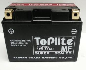 Baterie Toplite HONDA Integra 700 rok 12-15