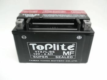 Baterie Toplite KAWASAKI EX 250 R Ninja rok 06-12