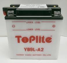 Baterie Toplite KAWASAKI EL 250 Eliminator rok 88-97