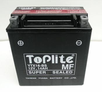 Baterie Toplite KAWASAKI VN 1500 Nomad rok 99-01