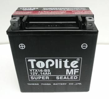 Baterie Toplite KAWASAKI VN 1700 Classic rok 09-14