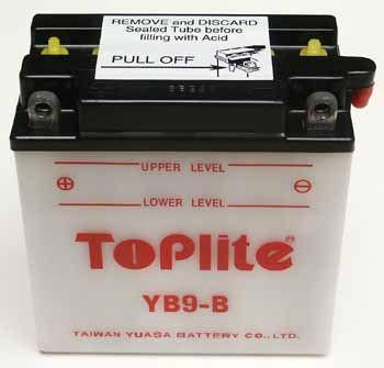 Baterie Toplite CAGIVA 125 Mito EVOLUTION rok 00-03