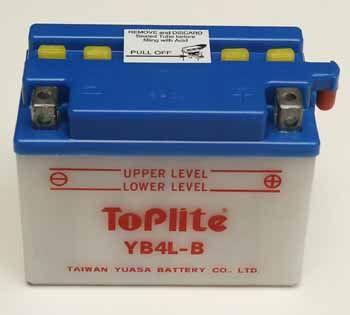 Baterie Toplite DERBI 50 Derbi GPR Nude (04-08) rok 04-05
