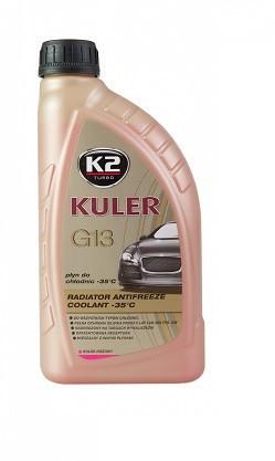K2 - Kuler -35C kapalina do chladiče, ružová 1l