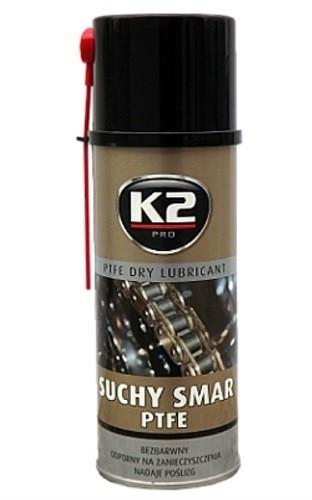 K2 PTFE DRY LUBRICANT 400 ml - suché teflonové mazivo