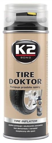 K2 TIRE DOKTOR 400 ml - lepení pneu