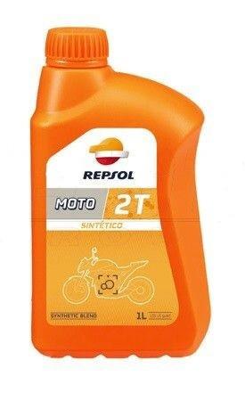 REPSOL MOTO SINTETICO 2T - 1L