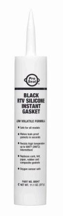 Pro Seal silikon černý - 317g