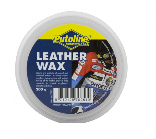 Putoline vazelína na kůži LEATHER WAX - 200ml