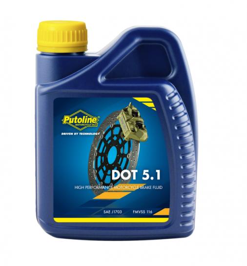 Putoline brzdová kapalina DOT5.1 - 0,5L