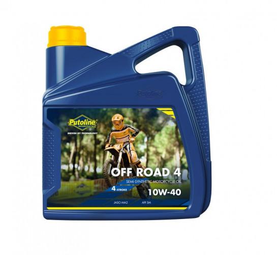 Putoline 4T OFFROAD4 10W40 - 4L