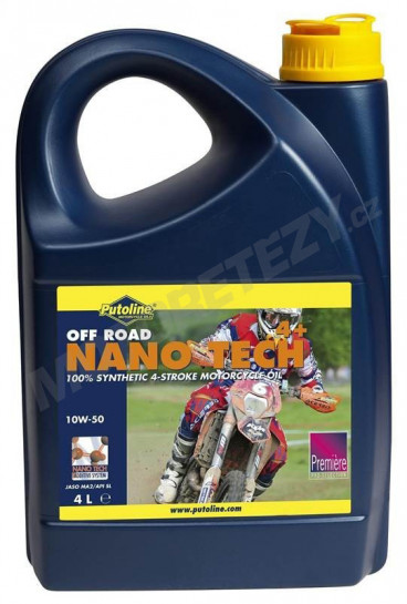 Putoline 4T Nano Tech4+ OFF-ROAD 10W50 - 4L