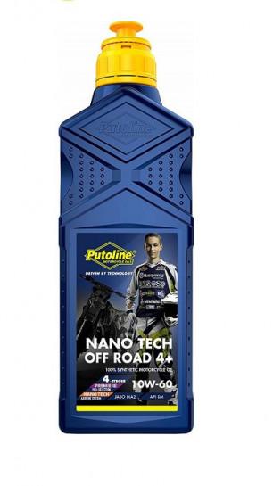 Putoline 4T Nano Tech4+ OFF-ROAD 10W60 - 1L