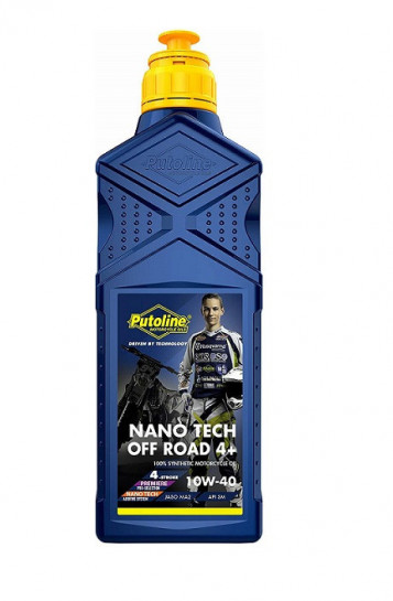 Putoline 4T Nano Tech4+ OFF-ROAD 10W40 - 1L