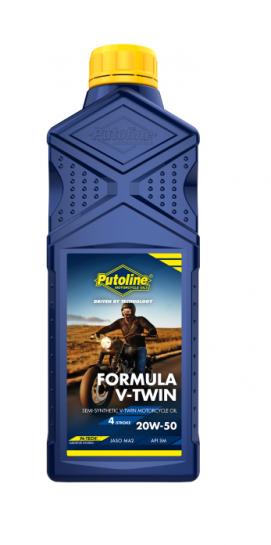 Putoline 4T Formula V-TWIN 20W50 - 1L