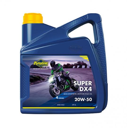 Putoline 4T Super DX4 20W50 - 4L