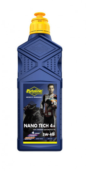 Putoline 4T Nano Tech4+ ROAD 5W40 - 1L