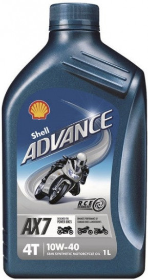 Shell Advance 4T AX7 10W-40 1 l