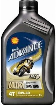 Shell Advance Ultra 4T 10W-40 1 l