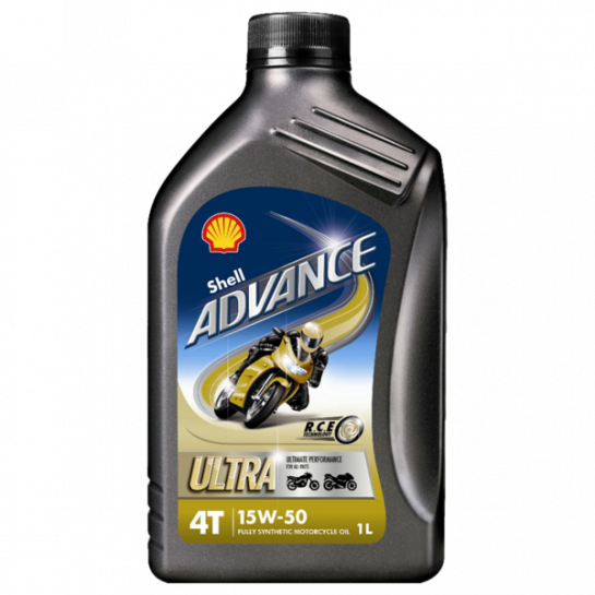 Shell Advance Ultra 4T 15W-50 1 l