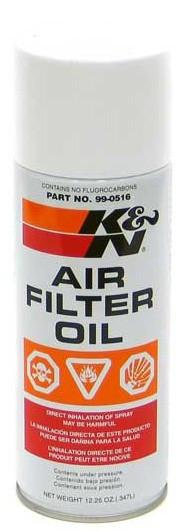 Olej na vzduchové filtry K&N