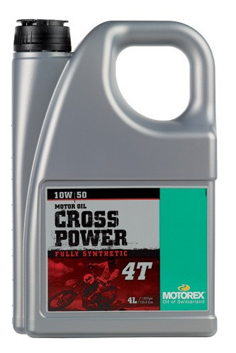 MOTOREX - CROSS POWER 4T 10W50 - 4L